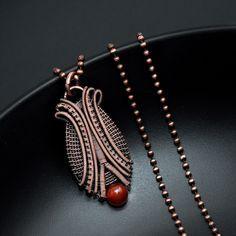 Wire wrap pendant, copper jewelry, diy jewelry, organic jewelry, learn to wire wrap, how to wire wrap, boho style, wearable art