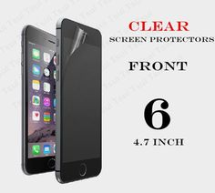 """1pcs Front Protective Film Anti Scratch Clear LCD Screen Protector Guard For iphone 6 4.7"""" + Cloth HOT"""