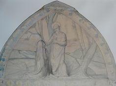 CHASSERIAU Théodore,1843 - Ste Marie l'Egyptienne, Etude pour l'Eglise St-Merri - drawing - Détail 23