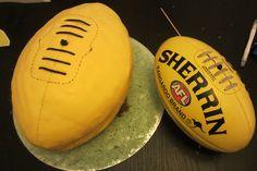 2nd birthday... AFL footy.