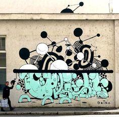 GRIS1.. . #graffiti #streetart