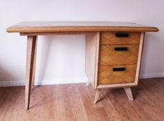 $175. Now that's a study buddy for you. Vintage Mid-Century Style Wood Desk