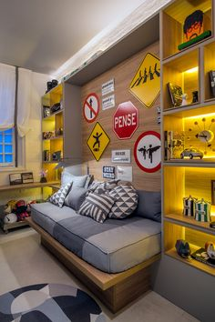▷ Ideas for teenage boy room + interiors that are topical Home Bedroom, Kids Bedroom, Boy Bedrooms, Girl Rooms, Bedroom Ideas, Room Interior, Interior Design, Teenage Room, Boy Room