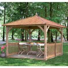 Jagram Luxury Cotswold Canopy With Cedar Roof. Classically shaped, the Luxury Cotswold Canopy from Jagram is superbly built using only top quality materials and also has an impressive choice of optional accessories.