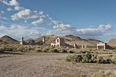 Picture of Ruins of abandoned town in Nevada