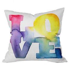 CMYKaren Love 4 Pillow
