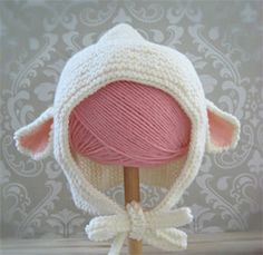 FREE PATTERN by Amy Gaines!  Crystal Palace Yarns Cuddles DK Little Lamb Hat
