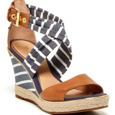 Sperry Top-Sider Shoes - Aurora Wedge Sandals