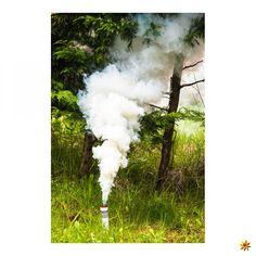 Rauchfackel Weiß #pyrotechnik #pyro #rauch #rauchfackeln