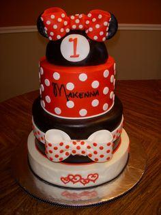 Minnie Mouse Cake des ist eigentlich dein Kuchen :-D