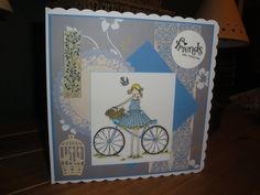 One of my Stamping Bella cards