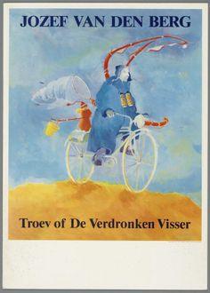 Affiche voor Jozef van den Berg