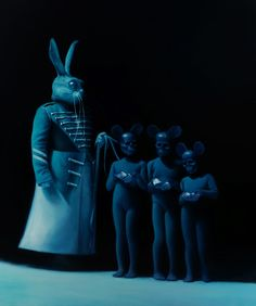 Hour of the Rabbit by Gottfried Helnwein