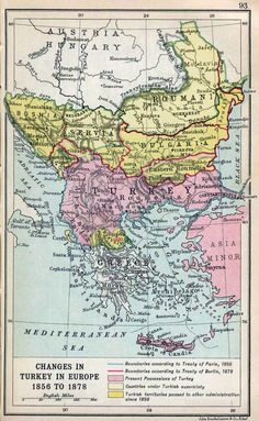 The Balkans, 1856-1878