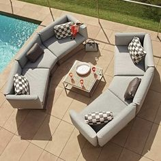 Stylish, Weatherproof Outdoor Lounge Furniture   Perfect For A Lazy Sunday  | Cloud Soft Touch