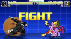 Annoying Orange & Wolvenom VS Hong Kong Phooey & Twilight Sparkle In A MUGEN Match / Battle / Fight This video showcases Gameplay of Twilight Sparkle From The My Little Pony Friendship Is Magic Series And Hong Kong Phooey The Superhero VS Wolvenom And The Annoying Orange In A MUGEN Match / Battle / Fight