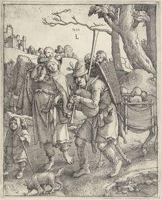 Artist: van Leyden, Lucas, Title: Eulenspiegel, Date: 1520