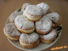 Mäkkulinké, nadýchané a lahodné ŠIŠKY :) rýchle a jednoduché A Food, Food And Drink, Eastern European Recipes, Sweet Recipes, Cooking Tips, Rum, Gluten Free, Sweets, Bread