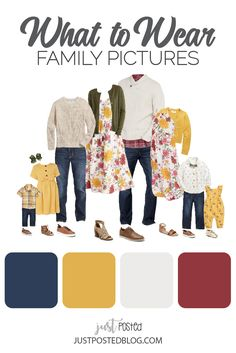Ideas for What to Wear for Easter and Spring Family Photos
