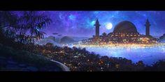 +City of Thousands of Lights+ by ERA-7.deviantart.com on @DeviantArt