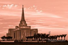 Gilbert, Arizona LDS Temple Photo by Brooks Crandell