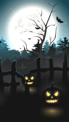 Scary Halloween Backgrounds, Halloween Silhouettes, Halloween Wallpaper Iphone, Halloween Pictures, Halloween Puzzles, Creepy Halloween, Vintage Halloween, Fall Halloween, Halloween Ideas