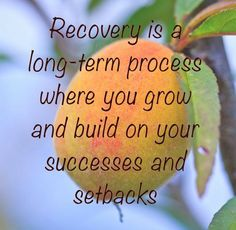 Recovery... it rocks!   rePinned by CamerinRoss.com