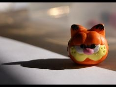 Garfield Tutorial for Polymer Clay or Fimo