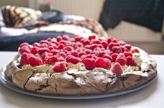 Nigella, Lawson, Chocolate, Pavlova, Raspberry, best gluten free dessert, gluten...  Sweets Nigella, Lawson, Chocolate, Pavlova, Raspberry, best gluten free dessert, gluten free, dessert, afternoon tea, raspberries, strawberries, pa…