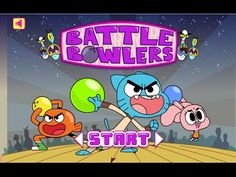 Gumball Games Battle Bowlers - Kids Cartoon Games