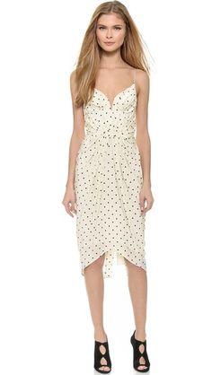 Zimmermann Seer Dot Balconette Dress