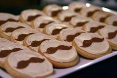 Mustache Party: cookies