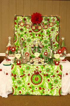 Sweets table - Lime,