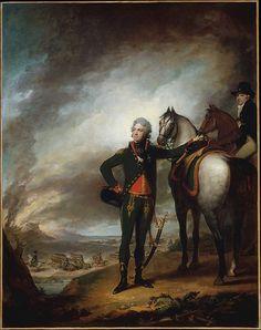 Gilbert Stuart (American, 1755–1828). Louis-Marie, Vicomte de Noailles, 1798.