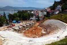 Telmessos Theatre Restoration, Fethiye, Turkey