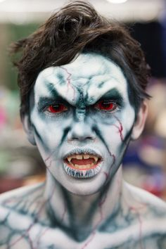 Turning to stone #Vampire #Makeup #FanX2014