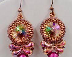 Resultado de imagen de designs using 2-hole zoliduo beads