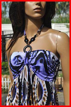 love long summer dresses like this!