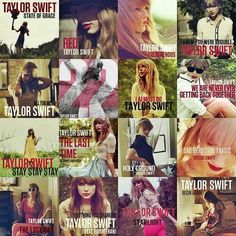 "All Taylor Swift Songs from ""RED"""