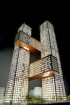 Marvelous Architecture around the World !!! Part -1 - Cross Towers by BIG, Seoul, Korea.