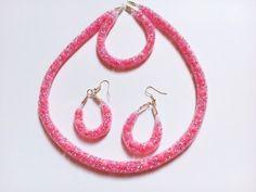 Crochet Earrings, Sad, Drop Earrings, Jewelry, Fashion, Moda, Jewlery, Jewerly, Fashion Styles