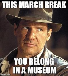 This March Break, you belong in a Museum! Join us for archaeology fun from March 14-18!