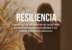 20 palabras más bonitas del idioma español (II) Resiliencia