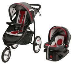 Graco FastAction Fold Jogger Click Connect Travel System Chili Red - Baby Strollers Jogging - Ideas of Baby Strollers Jogging - Graco Travel System Connect Snug 35 Elite Chili Red Baby Jogger Stroller, Best Baby Strollers, Travel Stroller, Double Strollers, Pram Stroller, Baby Boys, Travel Systems For Baby, Best Car Seats, Ideas Hogar