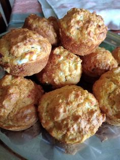 Yogurt Recipes, Muffins, Favorite Recipes, Cheese, Eat, Cooking, Breakfast, Pizza, Cupcakes