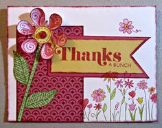 Thanks a bunch featuring Chantilly Paper Pattern by Deb Killian, Paper Hugz