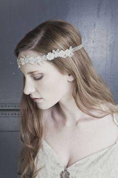 daisy floral wedding headband by debbie carlisle | notonthehighstreet.com