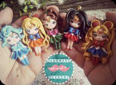 Colgante Sailor Moon/ Sailor Moon necklace por Ladyarcoiristienda