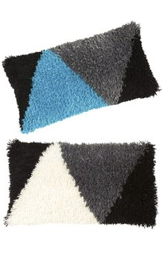 Ryijytyynyt Rya Rug, Cushions, Throw Pillows, Wallet, Deco, Rugs, Punch, Crafts, Farmhouse Rugs