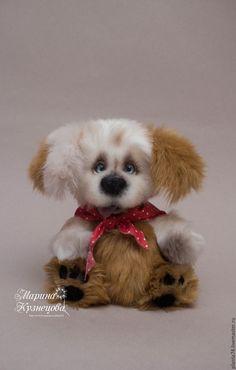 Купить Собачка Филя - собачка, собачка тедди, собачка игрушка, собака игрушка, собака тедди